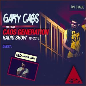 Gary Caos & Mirko Boni - Caos Generation 12 2018-06-28 Artwork
