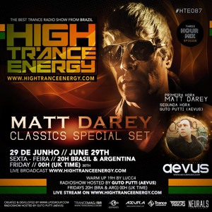 Guto Putti (Aevus) & Matt Darey - High Trance Energy 087 2018-06-29 Artwork