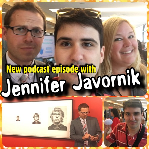 Ep38: Jennifer Javornik discusses Three's Company, Black Mirror and the future of video games