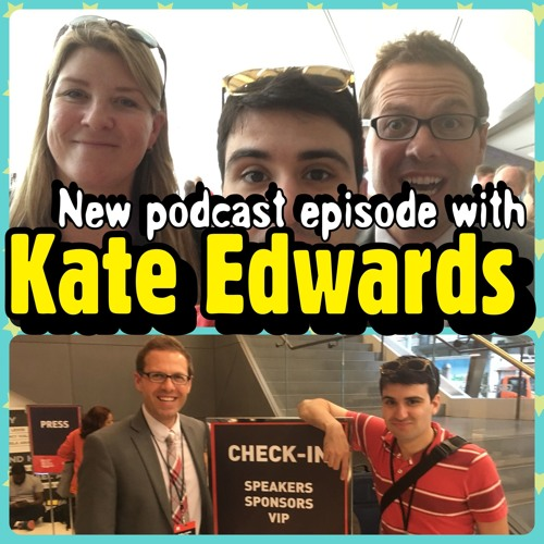 Ep37: Kate Edwards talks video game culture, cartography & culturalization!
