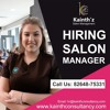 What is the Job of Salon Manager