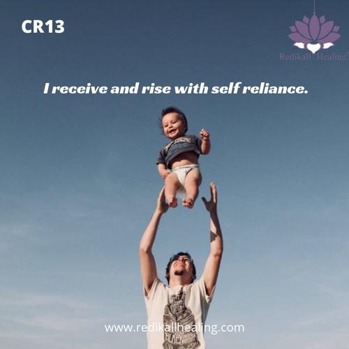 CR13 Right self reliance Chakra.