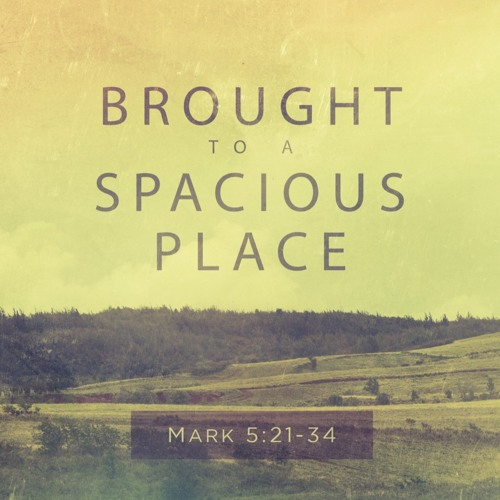 """7-1-2018 """"Brought to Spacious Place"""" Rv Jennie Barber"""