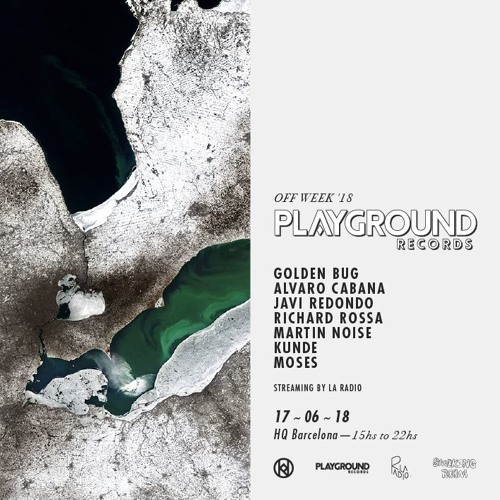 Kunde b2b Moses @ Playground Records x La Radio - Off Week '18 streaming showcase - at HQ Barcelona