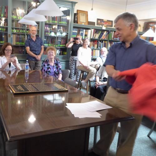 New Jersey SPJ unveiled historic site plaque in Flemington
