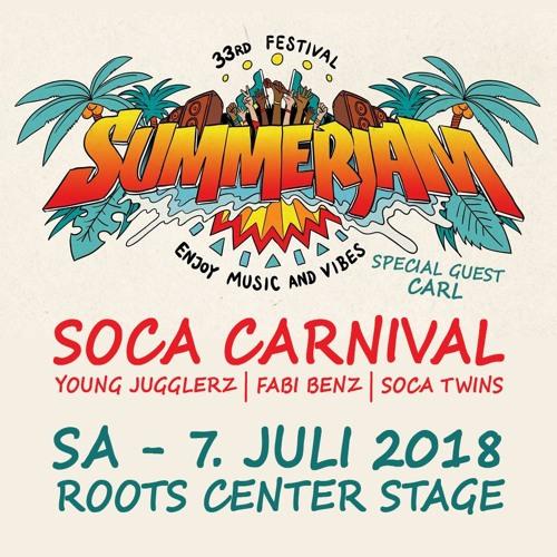 Germaica Mondaze #36 - Soca Carnival x Summerjam 2018 Special [Radio Live Mix]