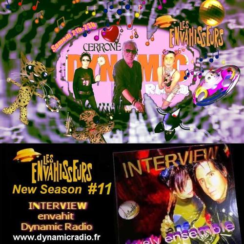 Les Envahisseurs Ze GREAT Marc CERRONE♪♫ ♥ INTERVIEW on Dynamic Radio ♪