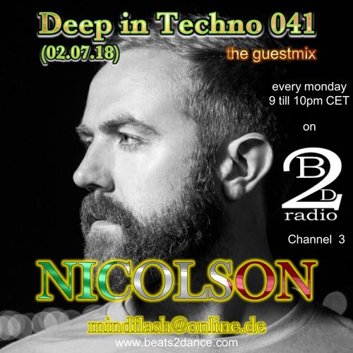 Deep in Techno 041 (NICOLSON guest mix)