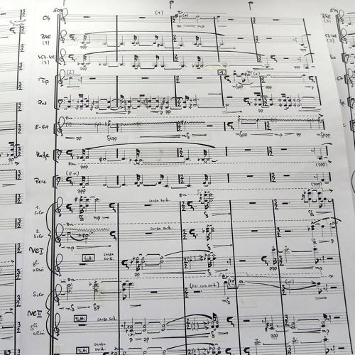 Von der Liebe zur Linie II - for orchestra