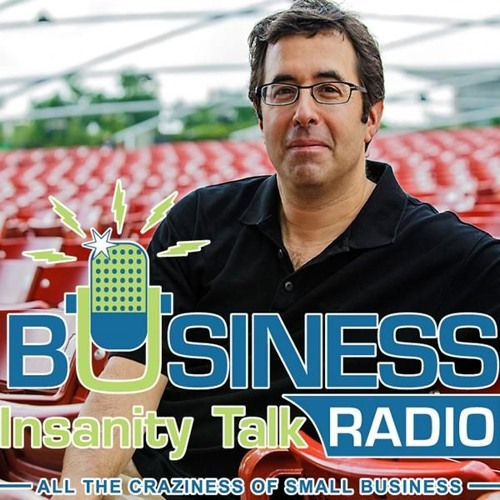 John Knights in conversation with Barry Moltz on Business Insanity Talk Radio