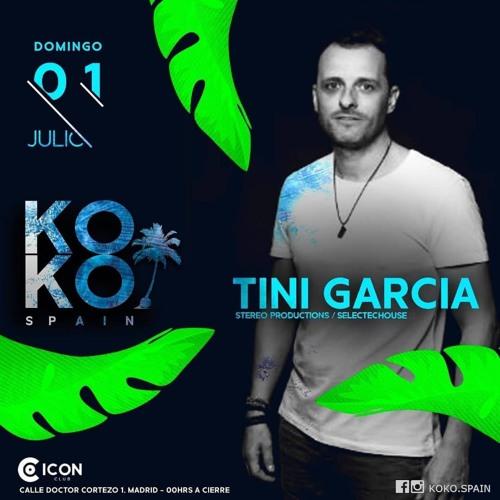 """Tini Garcia - LiveSet """"KOKO SPAIN"""" Madrid 18"""