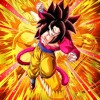 Dragonball Z Dokkan Battle - TEQ Ultra Full Power SSJ4 Goku (field)