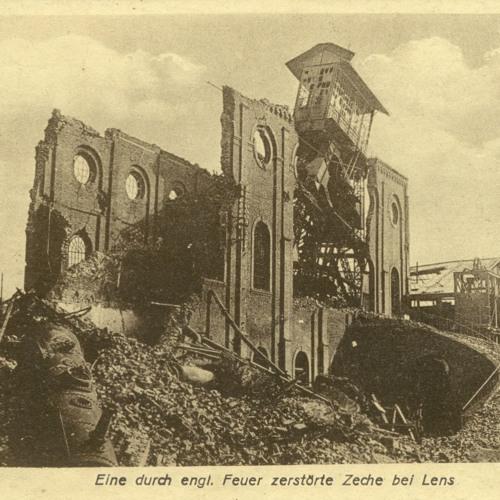 Opas Krieg - Feldpostkarte vom 27.06.1918