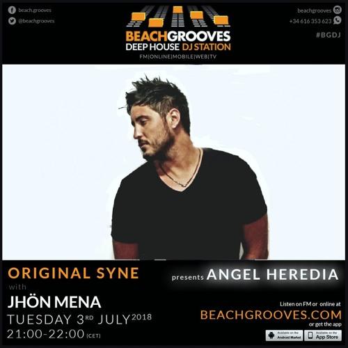 Angel Heredia @ BeachGrooves Radio [Original Syne - Junio 2018]