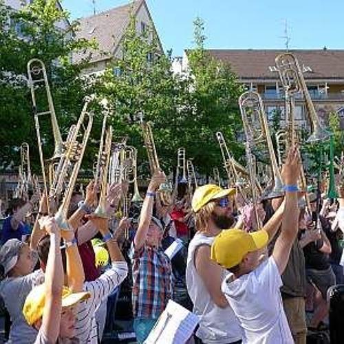 """Viel Sonne, viel Musik, viel Blech – Nachklapp zum """"Landesposaunentag 2018"""" in Ulm"""