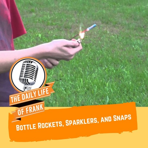 Bottle Rockets, Sparklers, and Snaps (The Daily Life of Frank)