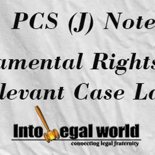 Constitutional Law, Part III, Fundamental Right