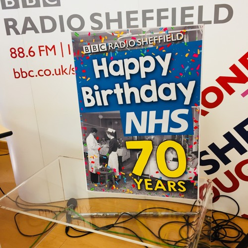DANIELLE INTERVIEW LIVE BBC RADIO SHEFFIELD 5 JULY 2018