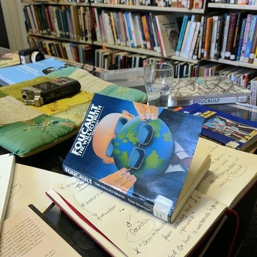 Frontyard Residency with Tom Malek: Day 1 (reading Foucault)