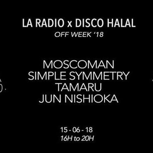 Jun Nishioka @ La Radio x Disco Halal ONWEEK 18