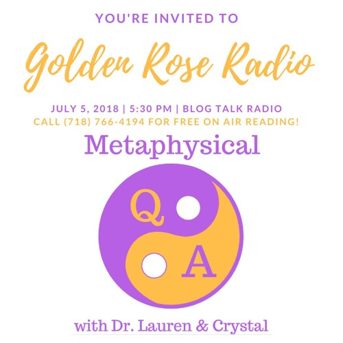 Metaphysical Q & A Starring Crystal Heinemann and Dr. Lauren Cielo