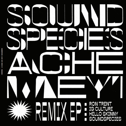 [MANANA004] Soundspecies Remix EP featuring Ron Trent, IG Culture and Hello Skinny