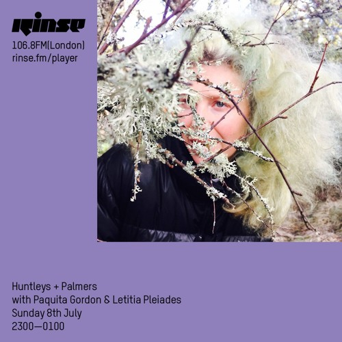 Huntleys + Palmers with Paquita Gordon & Letitia Pleiades - 8th July 2018