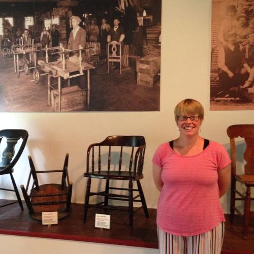 Community Matters - Jennifer Champ Discusses Jamestown Furniture Manufacturing Exhibit