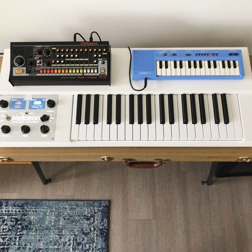 Here's a song I'm working on with my Mellotron M4000D Micro