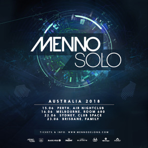 Menno De Jong @ Family Nightclub Brisbane 2018-06-23 Artwork