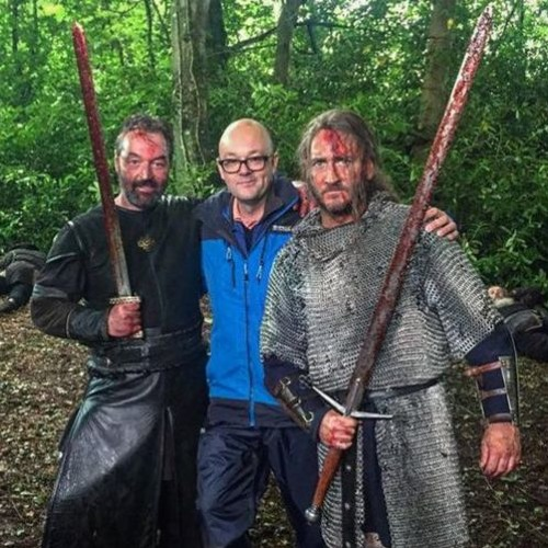 Ep 62 HOW TO MAKE A SWORDS AND SANDALS EPIC STARRING TERENCE STAMP with director David LG Hughes