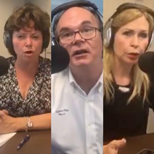 07/02/2018 - Palmetto Bay Mayor Flinn & Cutler Bay Mayor Bell w/ Cindy Lerner - Miami SMART Plan