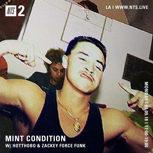 Mint Condition: the Zackey Force Funk Interview (NTS) pt. 1