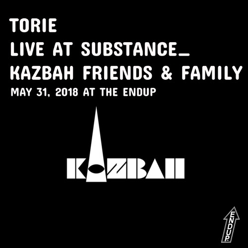 Torie Live at Substance Kazbah Friends & Family - May 2018