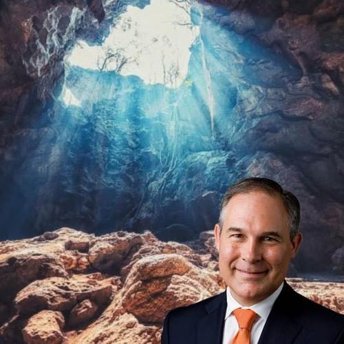 Scott Pruitt Visits a Cave