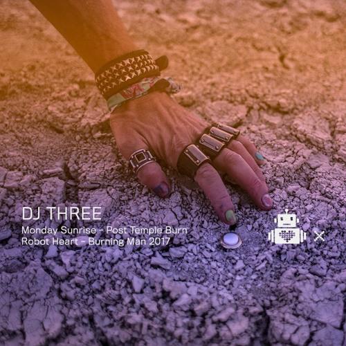 DJ Three - Robot Heart  10 Year Anniversary - Burning Man 2017