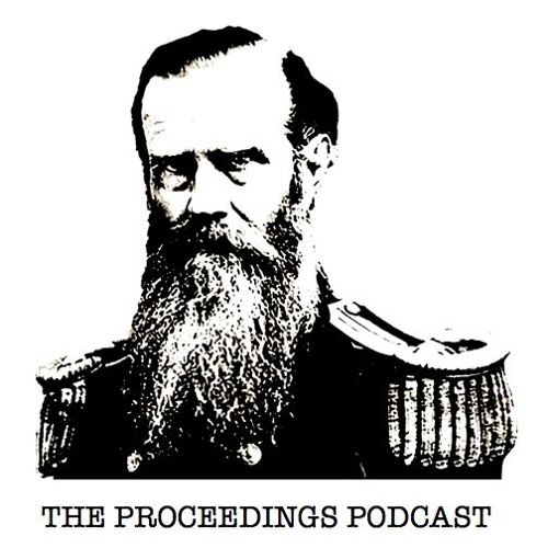 Proceedings Podcast Episode 34 - August Cole talks about the futuristic military