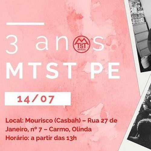 MTST comemora três anos em Pernambuco