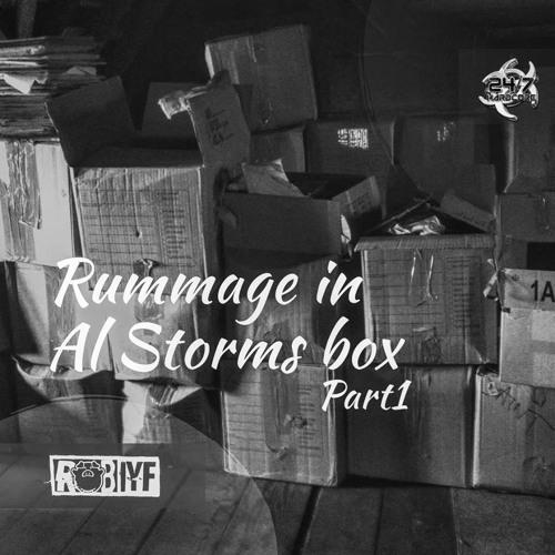 Rummage in Al Storms box part 1