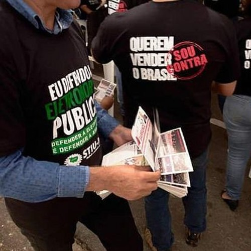 Mobilização popular freia privatização da Eletrobras
