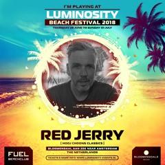 Red Jerry (Hooj Choons classics set) LIVE @ Luminosity Beach Festival, Holland, 28-6-2018
