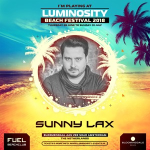 Sunny Lax @ Luminosity Beach Festival 2018-06-29 Artwork