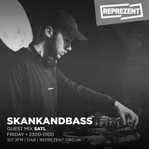 SATL - Skankandbass on Reprezent 009 2018-07-12 Artwork
