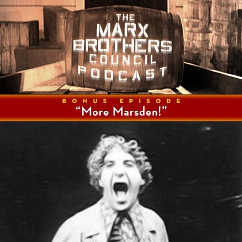 Bonus Episode: More Marsden!