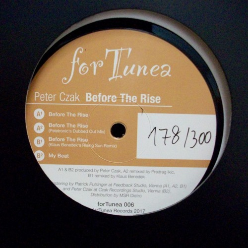 [forTunea006] Peter Czak - Before The Rise // PREVIEW