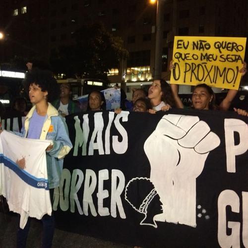 No Rio, centenas de pessoas vão às ruas pedir respostas sobre assassinato de Marielle