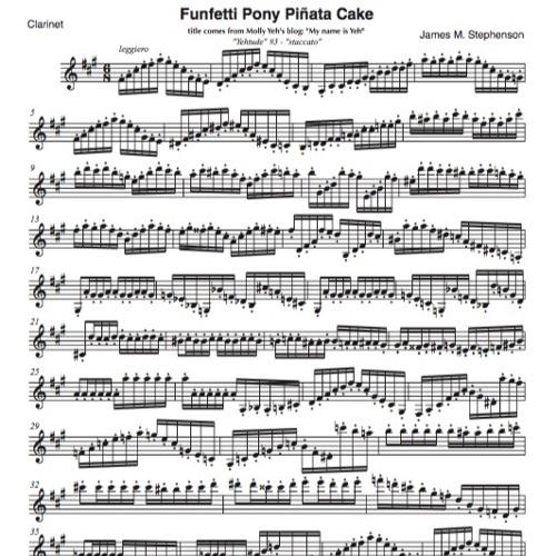 """Funfetti Pony Piñata Cake - """"YEHTUDE"""" #3 - Jim Stephenson"""