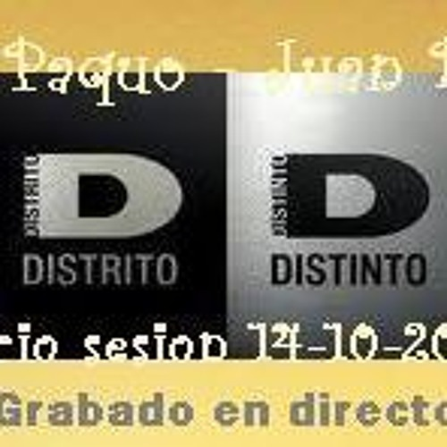 JUAN BEAT SESSION DISTRITO DISTINTO