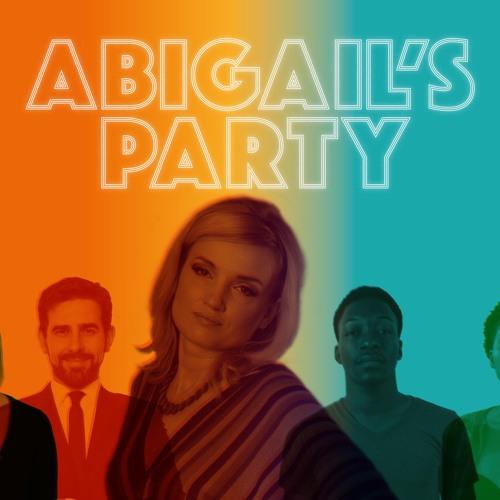 Abigail's Party Audio Flyer