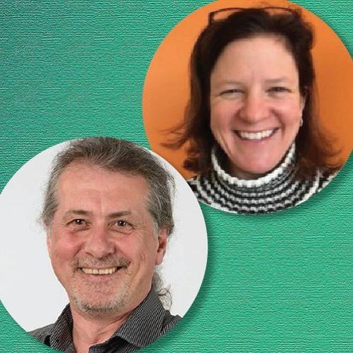 Mark Ashwell and Rebecca Carazza of Nimbus Therapeutics
